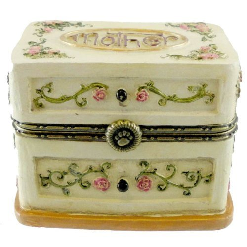 Boyds Bears Momma's Box of Jewels with Hattie Bloominglove Hinged Box 4022316 - NEW! by Boyds Bears (Bear Hinged)