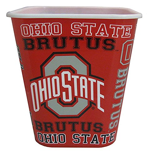 Ohio State 3 Liter Reusable Plastic Snack Bucket! ()