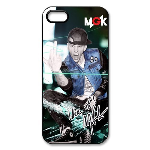 Fayruz- Machine Gun Kelly Protective Hard TPU Rubber Cover Case for iPhone 4 / 4S Phone Cases A-i4K423