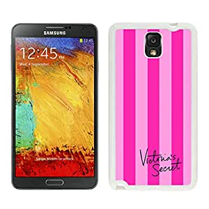 Personalized Design Samsung Note 3 Victoria's Secret Love Pink 37 Cell Phone Cover Case for Galaxy Note3 III N900 N9005 White