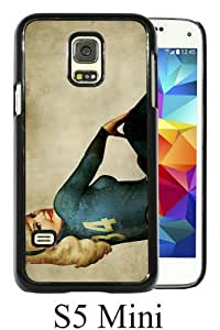 Beautiful And Unique Designed Case For Samsung Galaxy S5 Mini With Fallout New Vegas black Phone Case