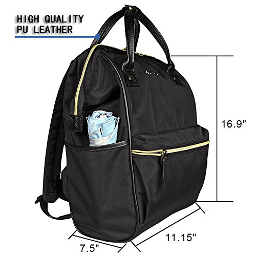 KROSER-Laptop-Backpack-Laptop-Bag-Casual-Daypack-Water-Repellent-Nylon-Briefcase-Business-Bag-Tablet-with-USB-Port-for-CollegeTravelBusinessWomenMen