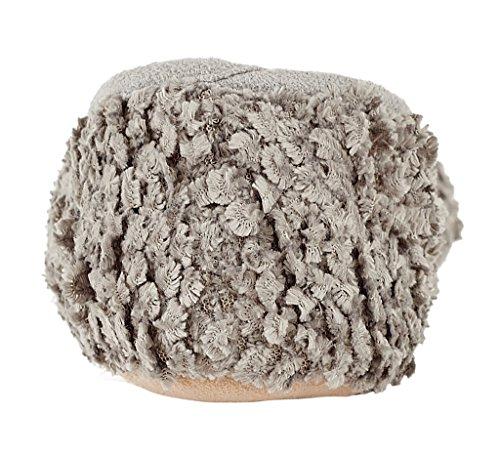 MIXIN Women's Ballerina Velveteen Soft Sole Indoor Slippers Grey US Size 8 Photo #7