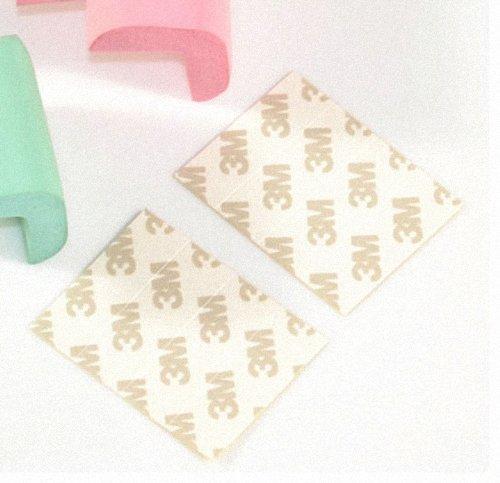 Demarkt 4 /× Paquete Bebe Nino infantil Segura La seguridad de los ninos mesa de escritorio de la esquina Golpes Cojin Guardia Protector