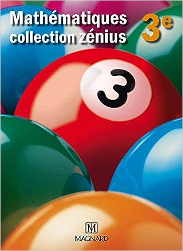 Livres gratuits en ligne Mathématiques 3e : Manuel élève pdf
