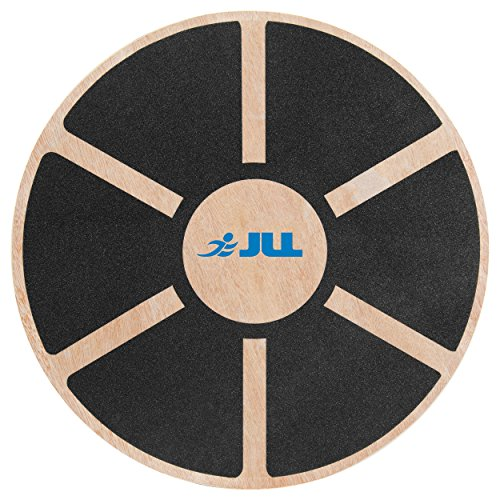 Balance Board Uae: JLL® Wooden Balance Board, ANTI SLIP SURFACE, Exercise