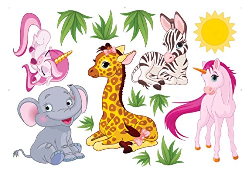 Nursery Animal Decals Rooms Bedroom product image