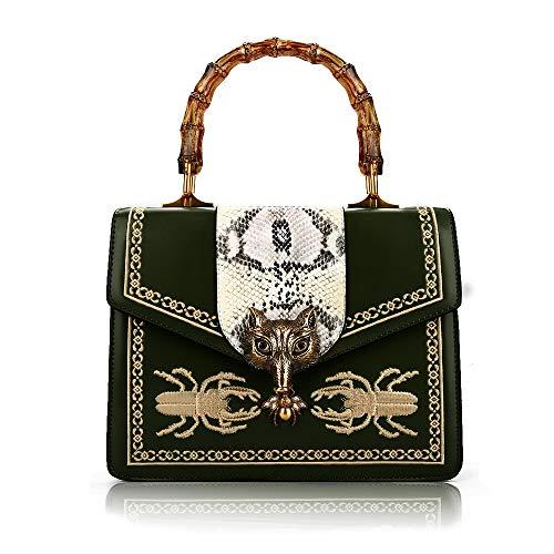 Beatfull Designer Handbag for Women Top Handle Handbag Bee Shoulder Bag with Fox