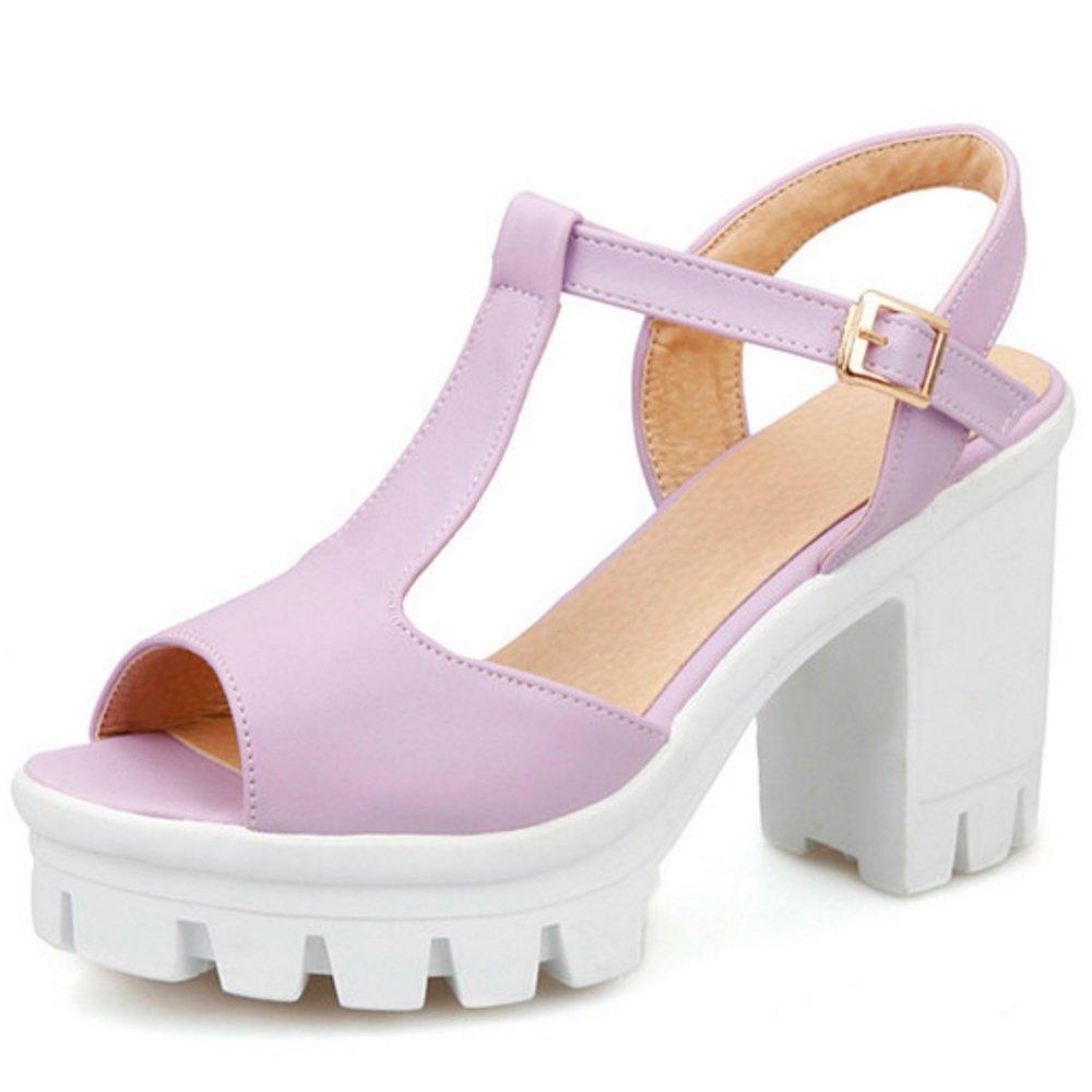 COOLCEPT Femmes Mode Courroie en en T Sandales Chaussures Peep B07CR9KB89 Toe Slingback Plateforme Bloc Chaussures Violet 8d53684 - latesttechnology.space