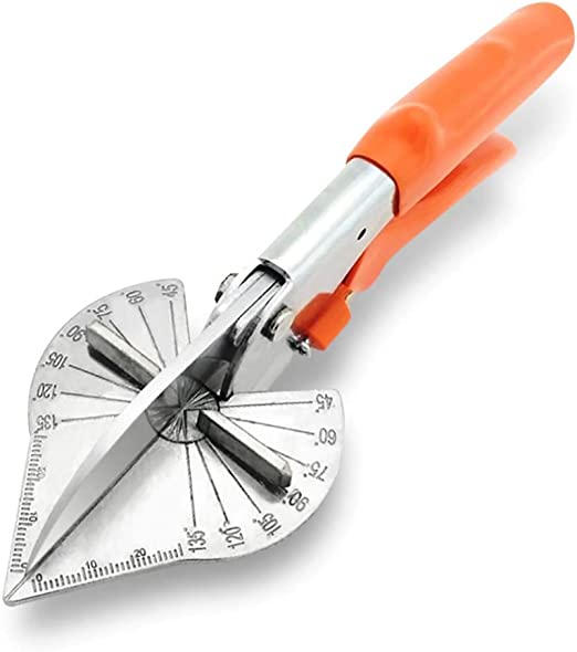 Gehrungsschere Nuzamas Dichtungsschere Mehrfach//verstellbare Winkelschneider,