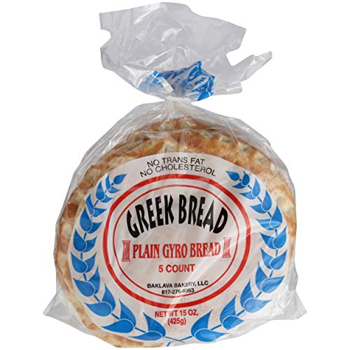 Baklava Bakery, Bread Pita Greek, 16 Ounce