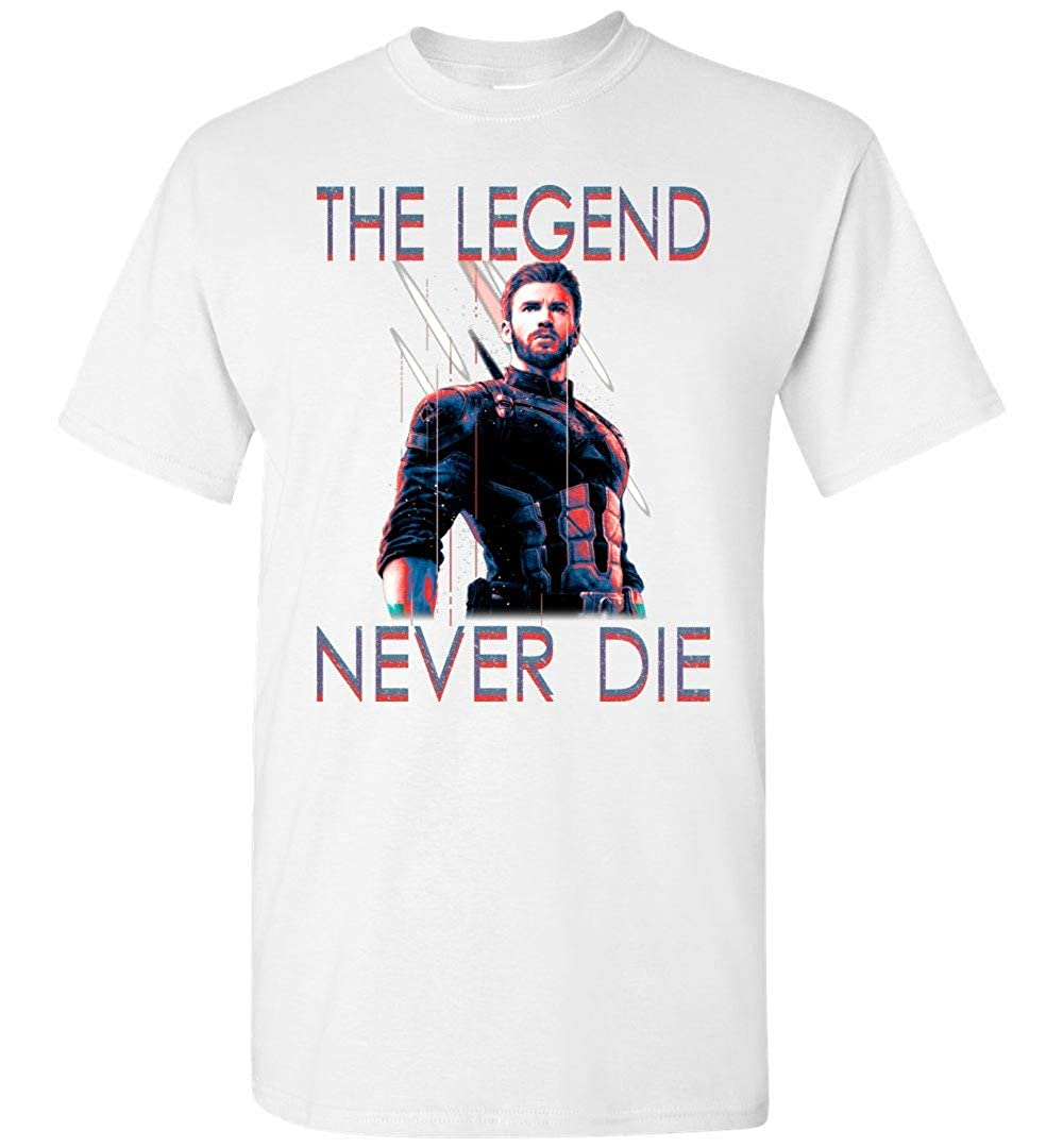 Captain-America The Legend T-Shirt