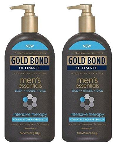 Amazon.com : Gold Bond Men\'s Essentials Intensive Therapy Lotion, 13 ...