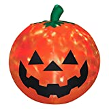 5 ft. H Projection Inflatable Fire and Ice Pumpkin