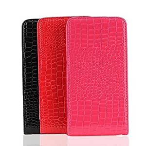 GHK - Crocodile Leather Case for Samsung Galaxy Note 3 N9000 , Rose