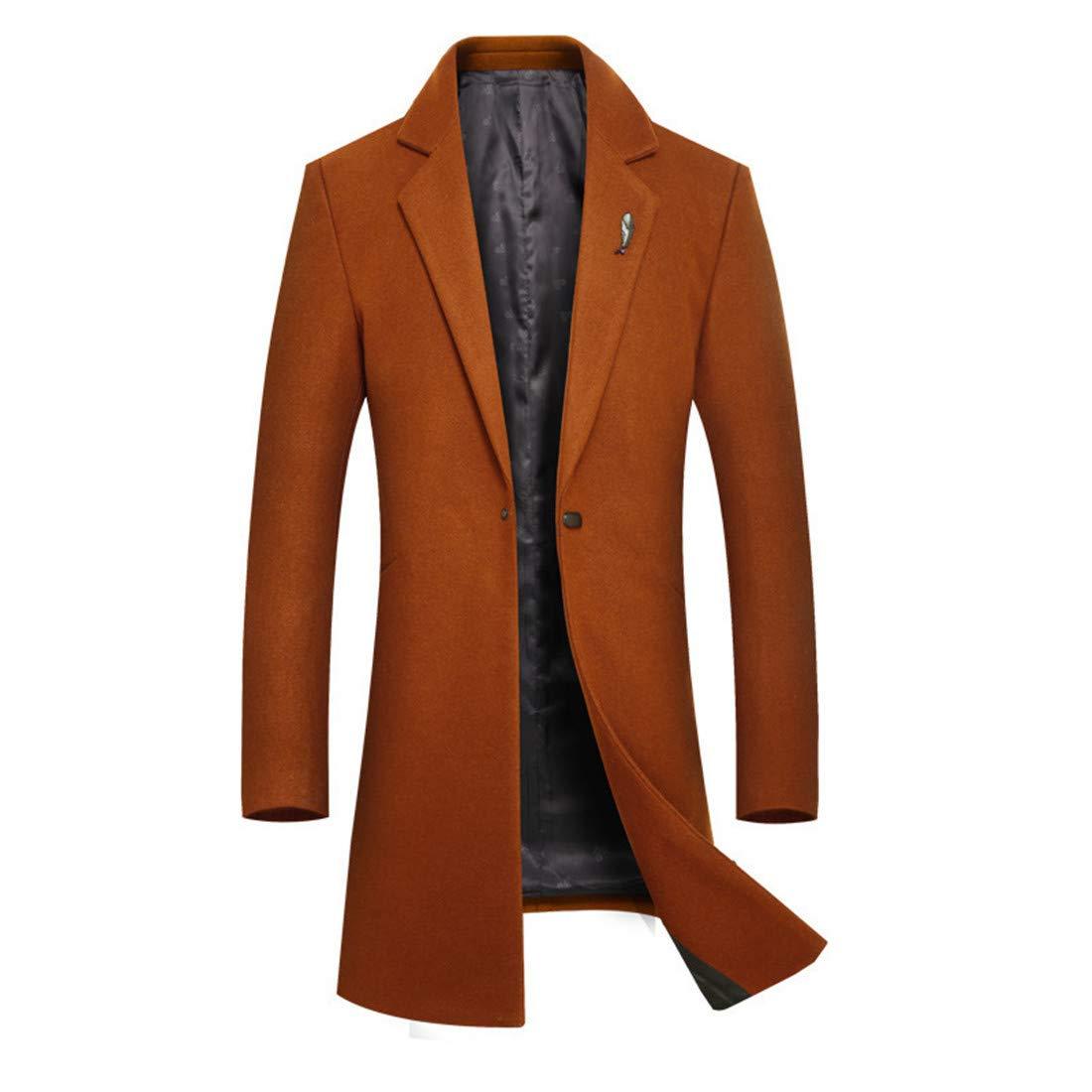 CAI&HONG-GUO GCH Winterbekleidung, Langer Abschnitt für Männer, Wolle