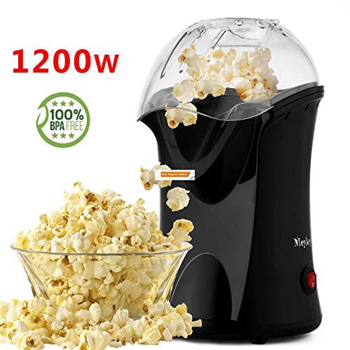 Popcorn Popper, Hot Air Popcorn Maker, 1200W Popcorn Machine
