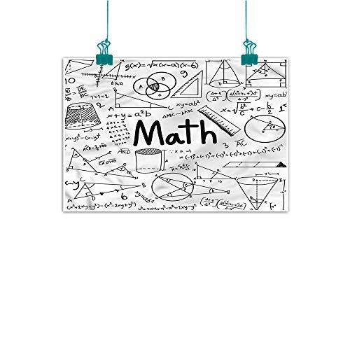 (Anzhutwelve Mathematics Classroom,Wall Decoration W 16