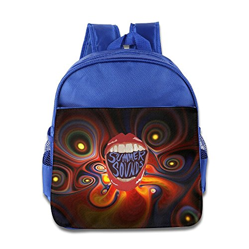 Barriory Summer Sounds Kids Shoulders Bag RoyalBlue