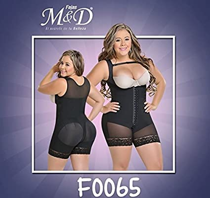 5d5d91288e4 Fajas Colombianas MYD 0065 Fajas Colombianas Reductoras Post Surgical Body  Shaper Girdles (Black, 2XS