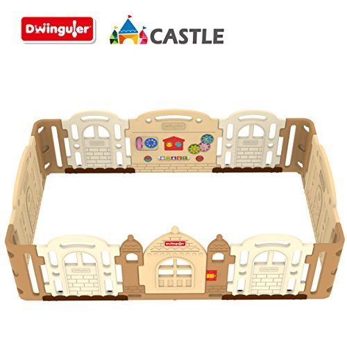 Dwinguler Castle - Kids Playpen (Caramel) by Dwinguler