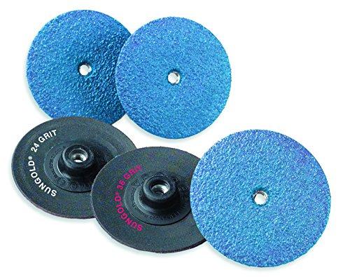 (Sungold Abrasives 61623 Zirconia & Non-Woven Trim Kut Disc Assortment Pack (6-Pack), 3