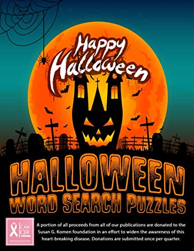 Halloween Word Search Puzzle Book: Large Print Word Search