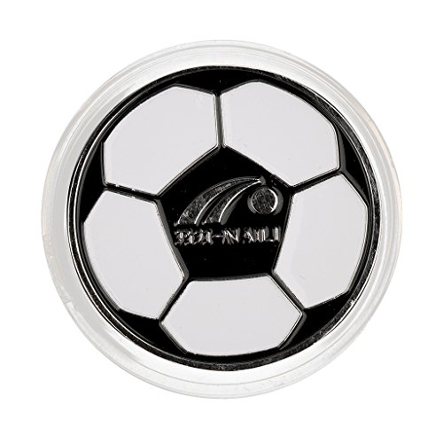- MonkeyJack Football Soccer Referee Flip Coin Judge Toss Coin Pick Side Finder With Plastic Carry Case