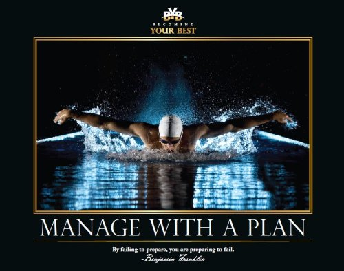 Motivational Poster - Manage with a Plan Small