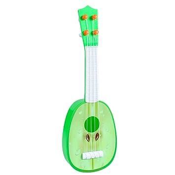 VIWIV Juguete De La Guitarra De La Fruta Instrumento De Enseñanza ...