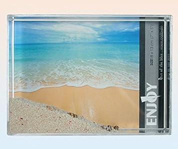 "Bilderrahmen /""Beach/'/"" für 3 Bilder Neu"