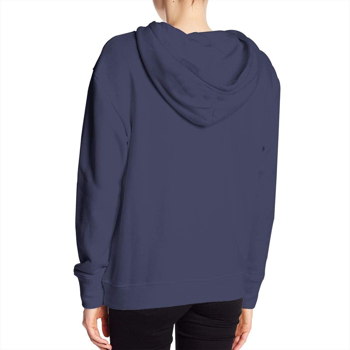 HELLONICE Harley Davidson Logo Womens Fashion Pocket Hooded Sweatshirt