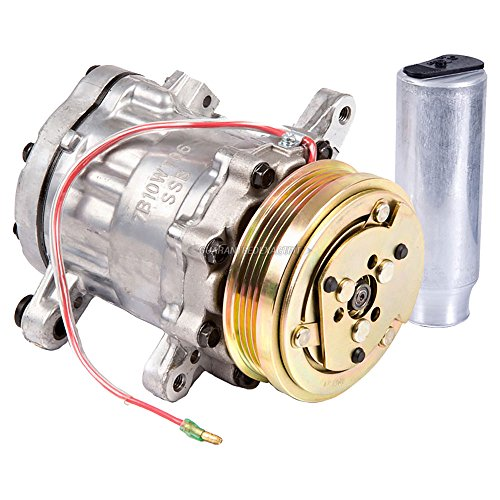 AC Compressor w/A/C Drier For Geo Metro 1994 - BuyAutoParts 60-88747R2 New