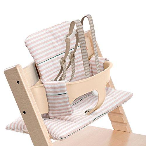 Stokke Tripp Trapp Cushion - Pink Stripes 146036