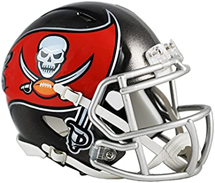 nfl tampa bay buccaneers replica mini helmet new 2014 logo helmets amazon canada nfl tampa bay buccaneers replica mini