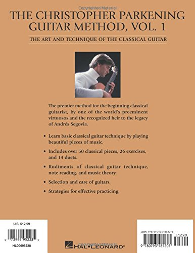Volume 1 The Christopher Parkening Guitar Method