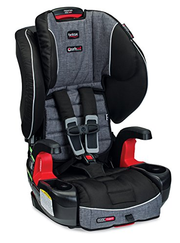 Britax Frontier Clicktight Combination Harness-2-Booster Car Seat, Vibe - Frame Shield