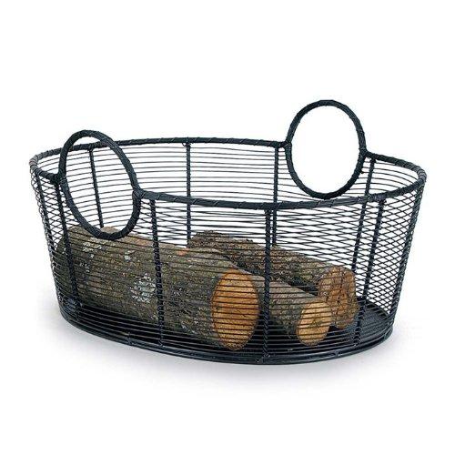- Minuteman International Handwoven Steel Woodbasket