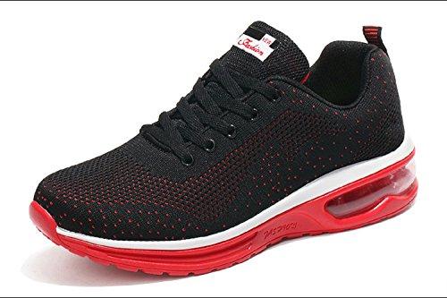 Damen Schuhe Sportschuhe Turnschuhe Laufschuhe Sneaker Rot Herren Bequeme 7YdxZnq6