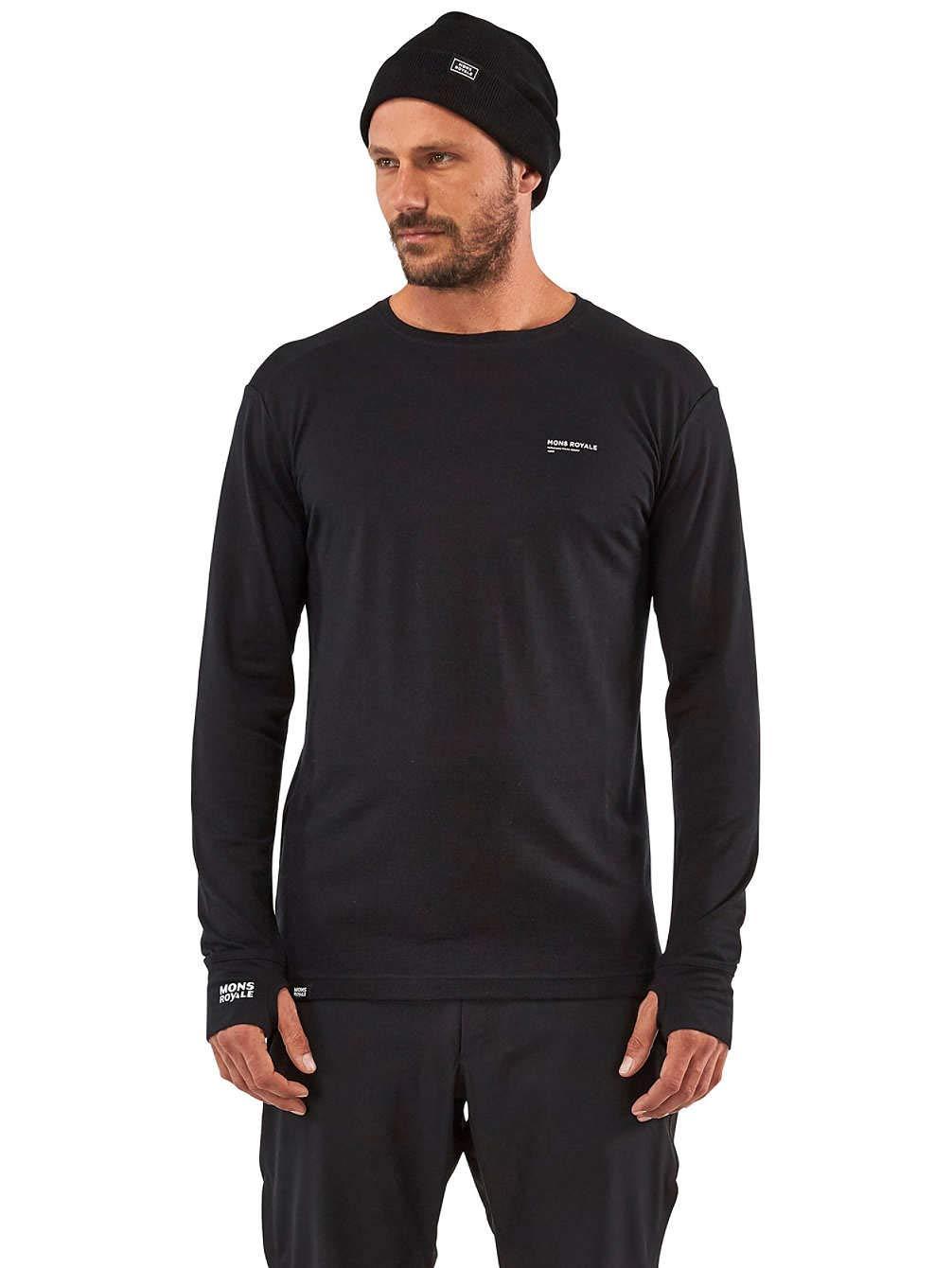 Mons Royale Alta Tech LS Crew Camiseta para Hombre