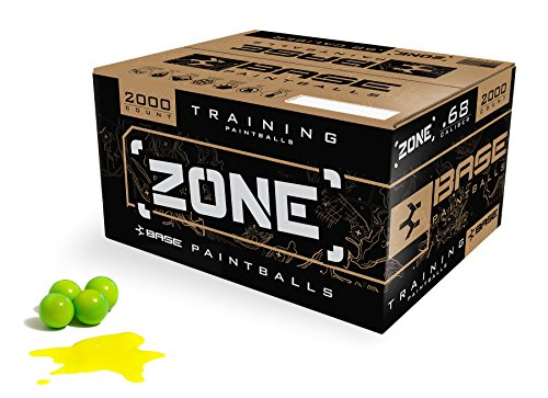 Base Zone Paintballs (Lime Green / Yellow Fill (2000 Ct))