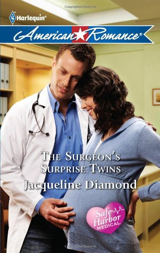 book cover of The Surgeon\'s Surprise Twins