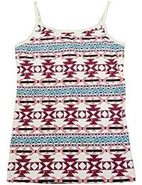Star-Print Tank Top Grey Heather Medium 10-12 7-16 Epic Threads Big Girls