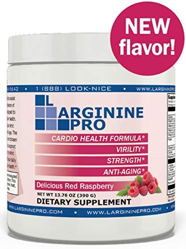 Cheap L-arginine Pro, 1 Now L-arginine Supplement - 5,500mg of L-arginine Plus 1,100mg L-Citrulline + Vitamins  Minerals for Cardio Health, Blood Pressure (Raspberry, 1 Jar) genius l-arginine