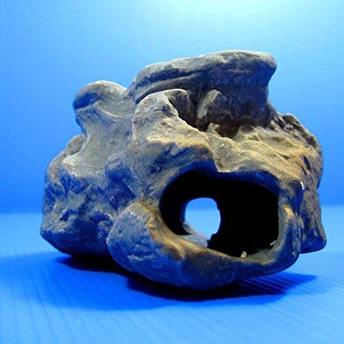 Dr moss cichlid stone ceramic aquarium rock cave decor for Fish aquarium rocks