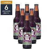 Cerveza Artesanal El Santos, Estilo Irish Stout, Corazón de Malta, BeerPack con 6 botellas de 355 ml c/u