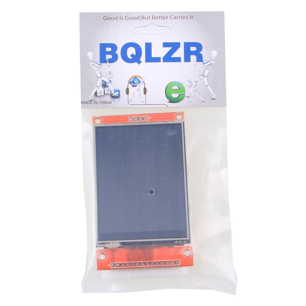 BQLZR rojo 240 x 320 resoluci/ón 2.8 SPI TFT LCD a color Panel t/áctil m/ódulo de puerto serie con PBC ILI9341