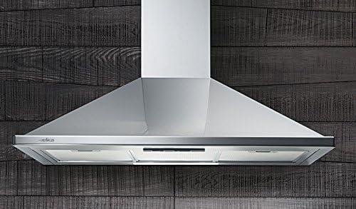Elica Nikita IX F/60 De pared Acero inoxidable 450m³/h - Campana (450 m³/h, Recirculación, 62 dB, De pared, Acero inoxidable, 40 W): Amazon.es: Hogar