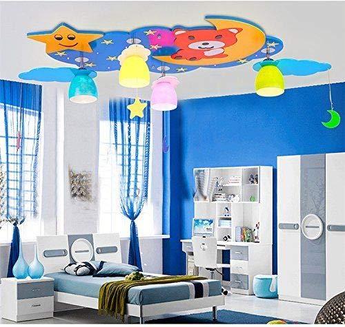 FidgetGear Animal Lighting Chandelier Kids Room Ceiling Lamp Children Pendant Light Fixture Pink Rainbow by FidgetGear (Image #6)