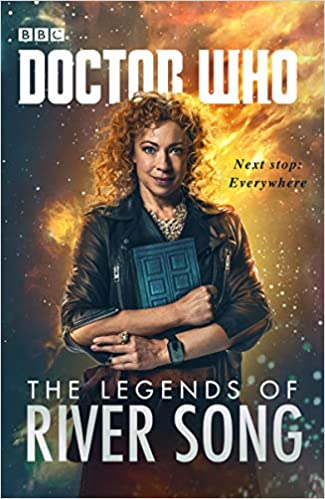 Doctor who   the Legends of river song   book  signed by writers